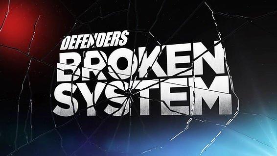 KSAT Defenders 'A Broken System' logo