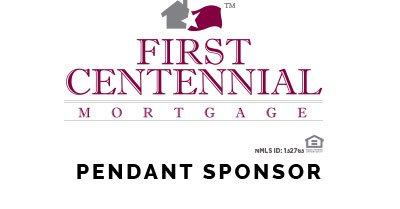 First Centennial Mortgage Logo with Pendant Sponsor