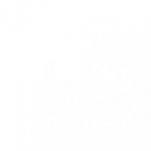 Icons of a house and a piggybank