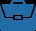 icon of a briefcase