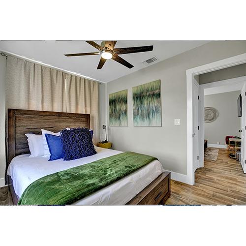 2-Night Getaway in Fredericksburg, TX Master bedroom