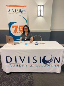 Division Laundry & Cleaners at THRU Project THRU Works Career Day