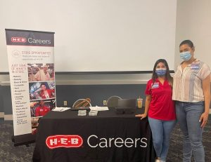 HEB at THRU Project THRU Works Career Day