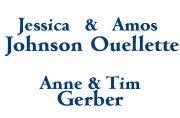 Jessica Johnson & Amos Oulette, Anne & Tim Gerber Sponsor of THRU Project 2021 Annual Gala