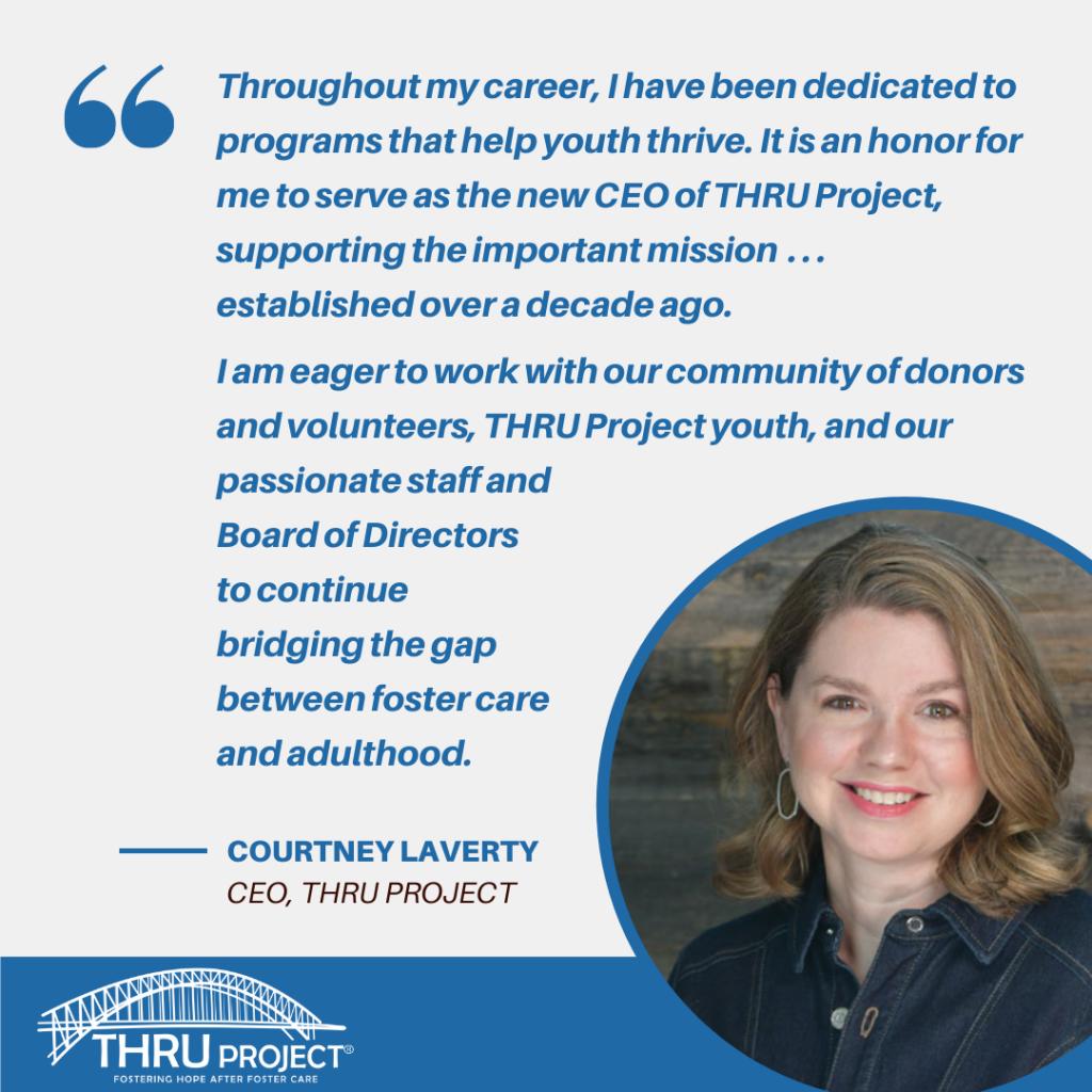 Courtney Laverty THRU Project CEO