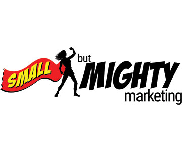 Small but Mighty Marketing Logo