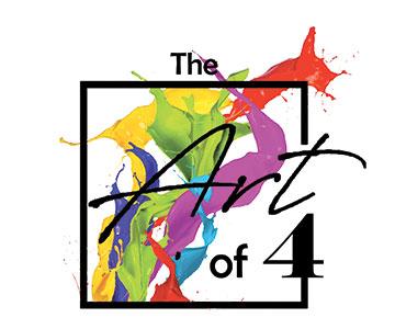 The Art of Four Logo